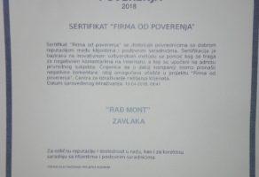 Rađ Mont – Bravarsko zavarivacki radovi ZEMUN