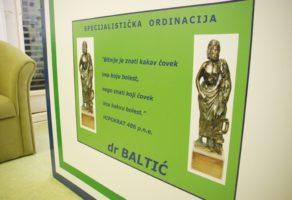 Specijalistička ordinacija Dr Baltić Beograd