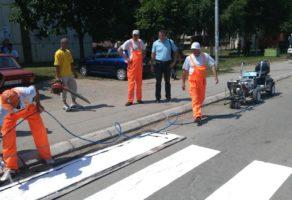 Horizontalno obeležavanje ZR Obeležavanje  Boljevac