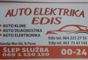 Šlep služba i auto elektrika Edis Novi Pazar